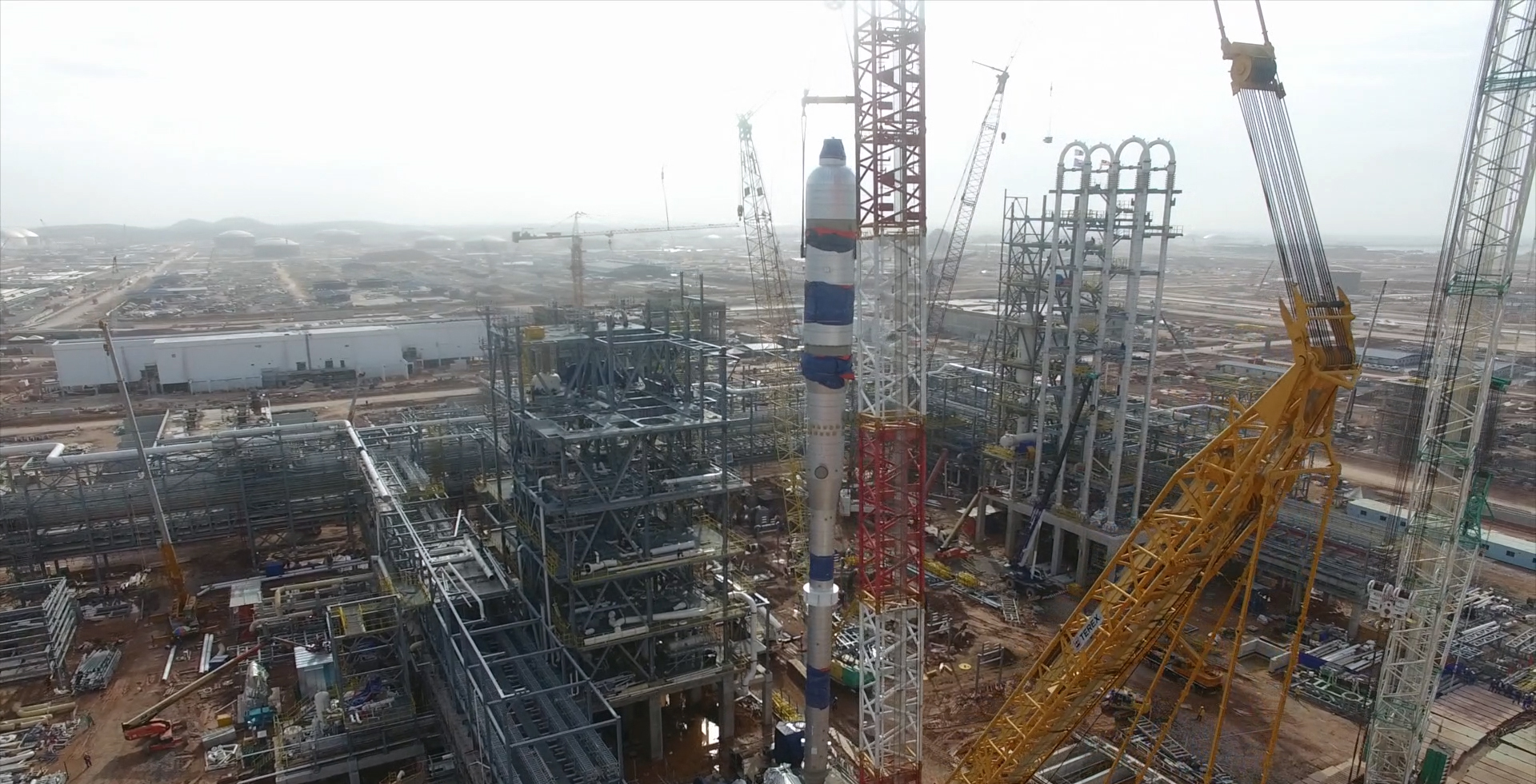 Projects for the RAPID Complex: Two Polyethylene Units, One