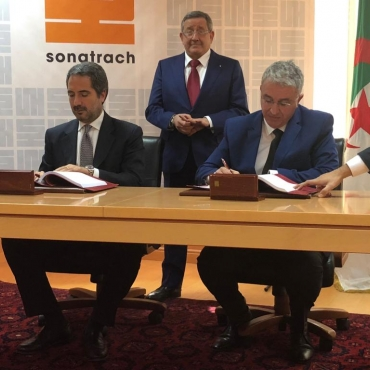 Signing ceremony for the previously announced Sonatrach's LPG project in Algeria