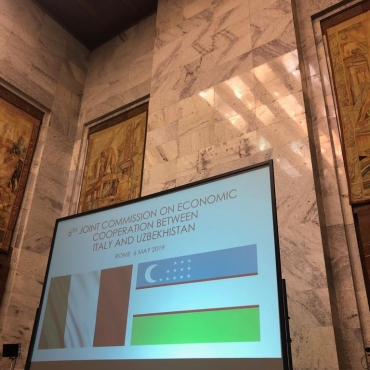The 6th session of the Joint Economic Commission Italy-Uzbekistan