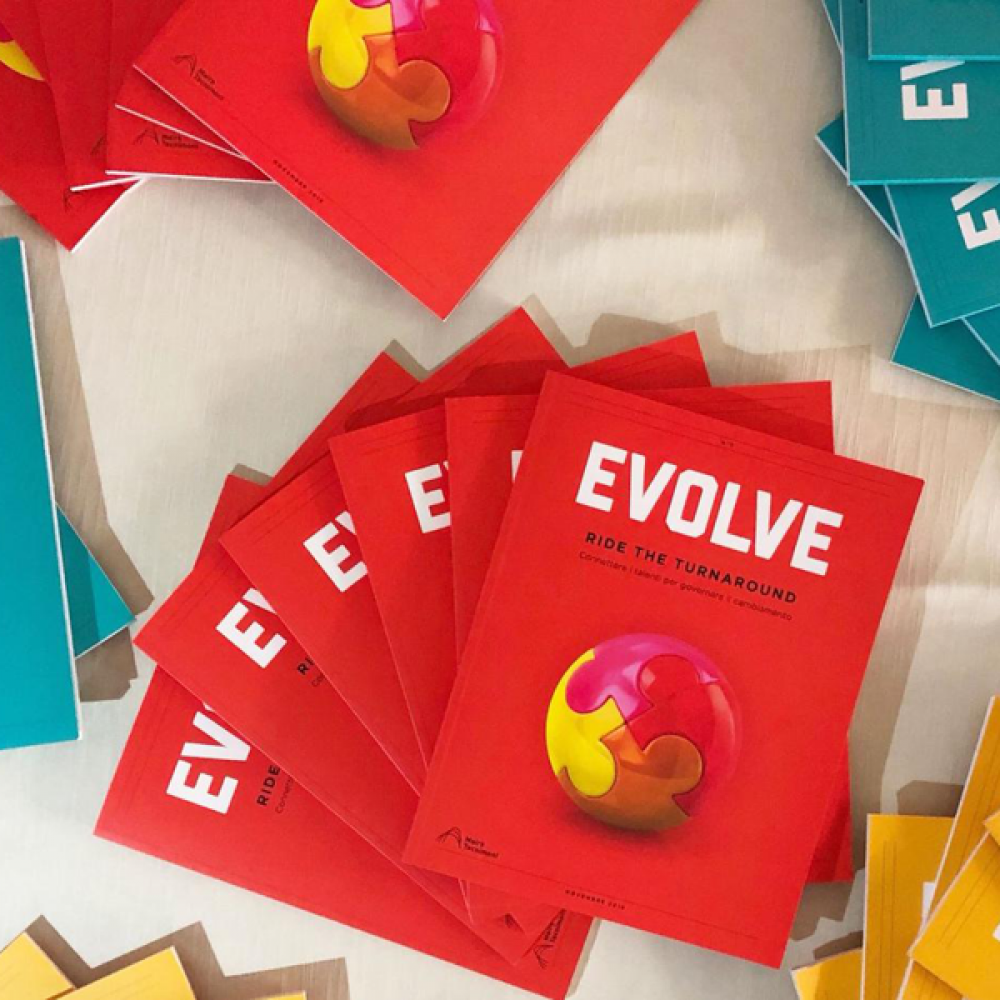 EVOLVE - Digital Transformation to make room for collective thinking